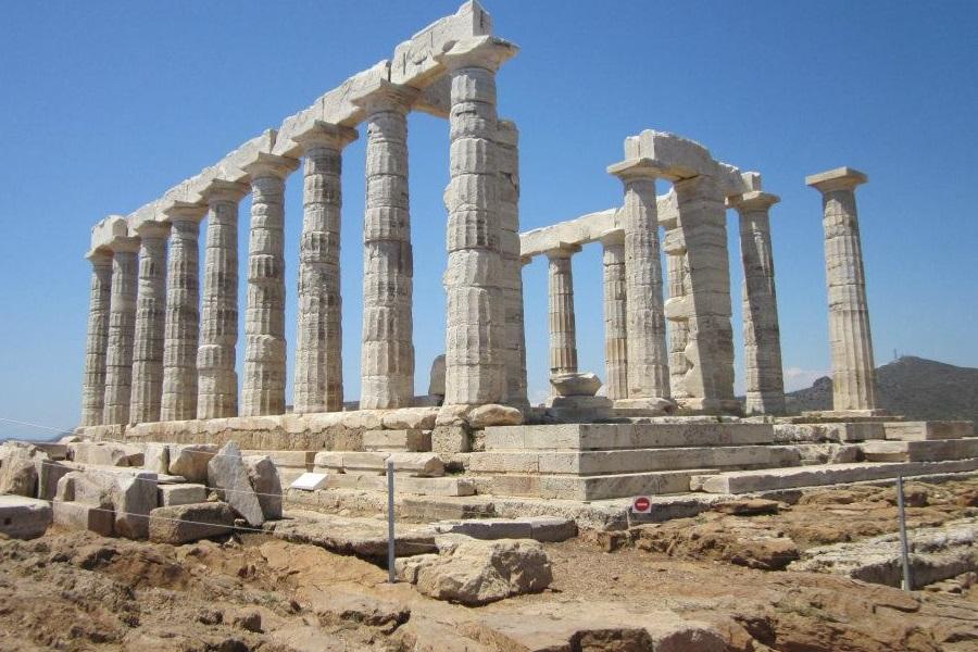 Templo de Poseidón, Sunio, Grecia